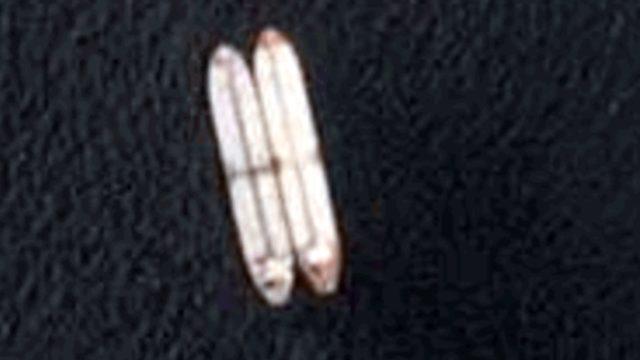 Uydu fotoğrafı ile, gemiden gemiye yapılan yakıt transferleri de tespit ediliyor.