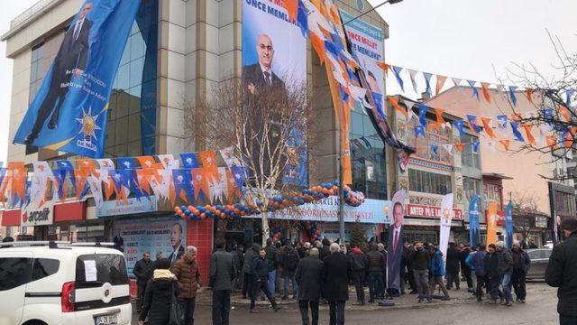 AK Parti Kars Seçim Koordinasyon Merkezi'nin açılışı yapıldı