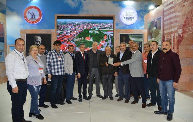 EMITT'te Kırşehir standına ödül