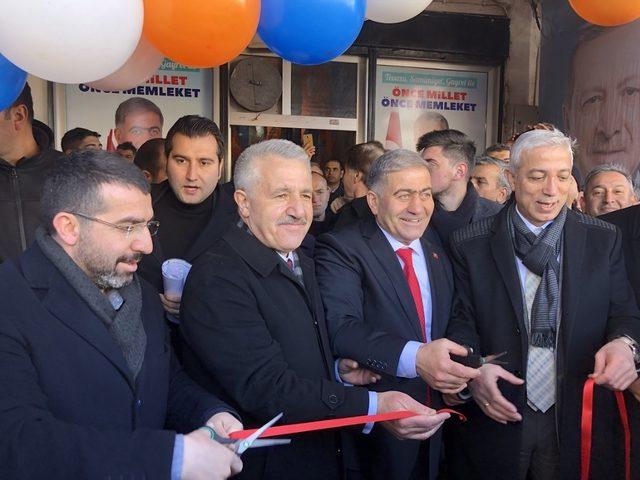 AK Parti Kağızman Seçim Koordinasyon Merkezi açılışı yapıldı