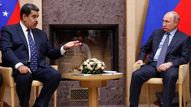 Maduro ve Putin Aralık ayında Moskova'da görüşmişlerdi.