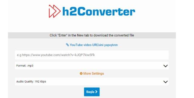 h2converter