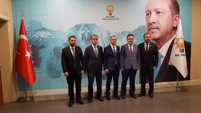 AK Parti Ovacık İlçe Başkanlığına Atama