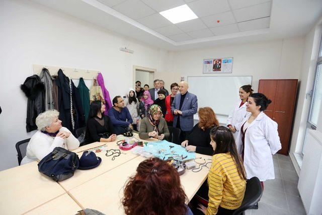 Ata, Kültür Merkezi'ne kavuştu