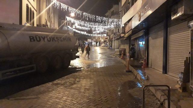 Beypazarı Belediyesinin önceliği temizlik