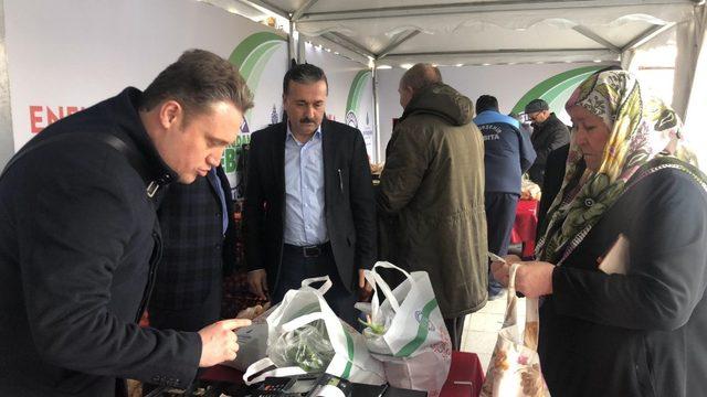 Sultanbeyli'de tanzim satış noktası hizmete başladı