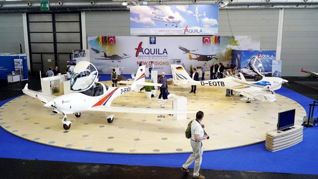 'Türk Kartalı' Aquila'ya 'En Mükemmel Uçak Tasarımı' ödülü