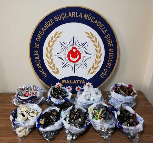 Malatya'da kaçakçılık operasyonu: 5 gözaltı