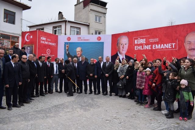 MHP Kastamonu'da belediye başkan ve meclis üyeleri tanıtıldı