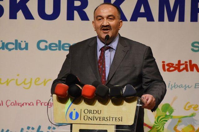 """İŞKUR Genel Müdürü Uzunkaya: """"2018'de 1 milyon 247 bin 308 kişinin istihdamına aracılık yaptık"""