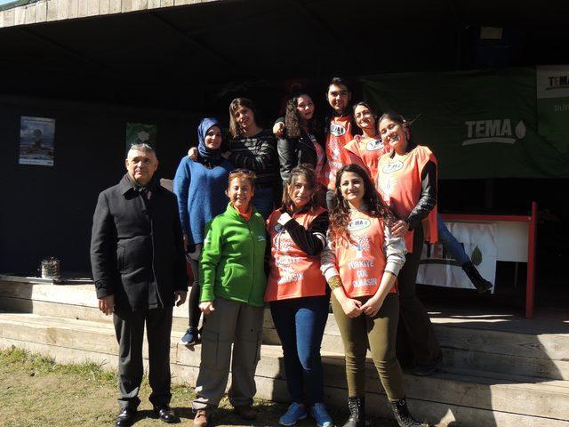 İstanbul Rumeli Üniversitesi TEMA ile birlikte baharın gelişini kutladı