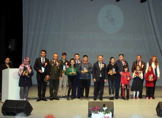 Mehmet Akif Ersoy İstiklal Marşı'nın kabulünün yıldönümünde anıldı
