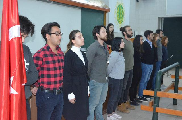 İÜ-Cerrahpaşa'da bir amfiye Mehmet Akif Ersoy'un adı verildi