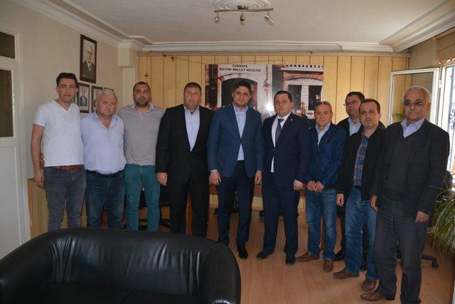 Serkan Acar'dan ziyaretlerinde önemli mesajlar