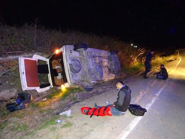 Kaçakları taşırken kaza yapan sürücü: 'Bu arabada ne işim var, hatırlamıyorum' dedi