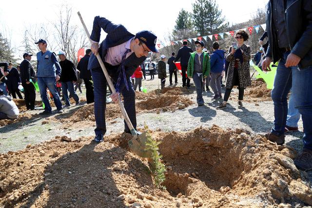 Vali Aktaş: Suyumuzu, aldığımız nefesi ağaçlardan sağlıyoruz