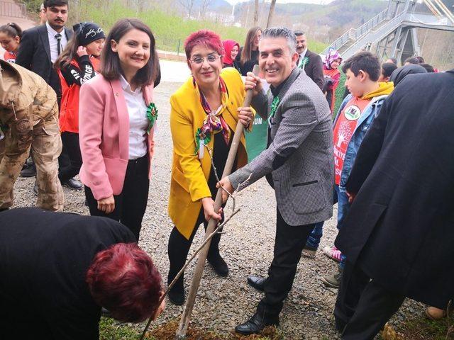 Ayvacık'ta doğa projesi başlatıldı