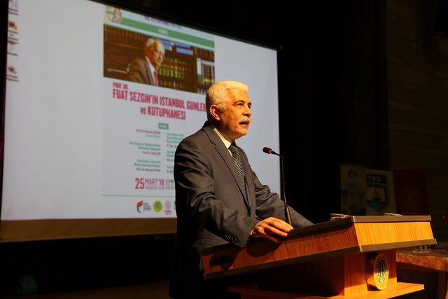 Bilim tarihi uzmanları anılarıyla Prof. Dr. Fuat Sezgin'i anlattı