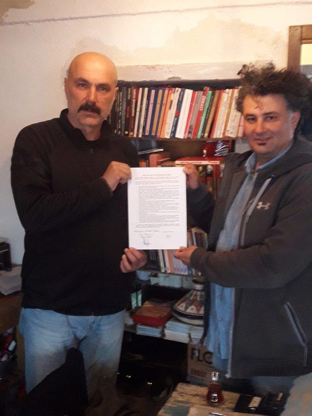 Başkan adayları, Bozcaada için bildiri imzaladı