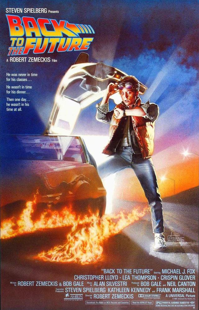 Back To The Future - gelecege donus