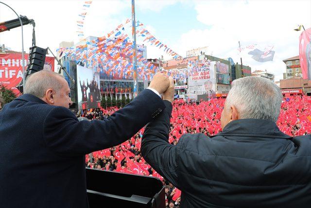 AK Parti'nin Maltepe mitingi<br />