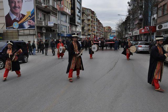 Afyonkarahisar AK Parti'den sevgi yürüyüşü