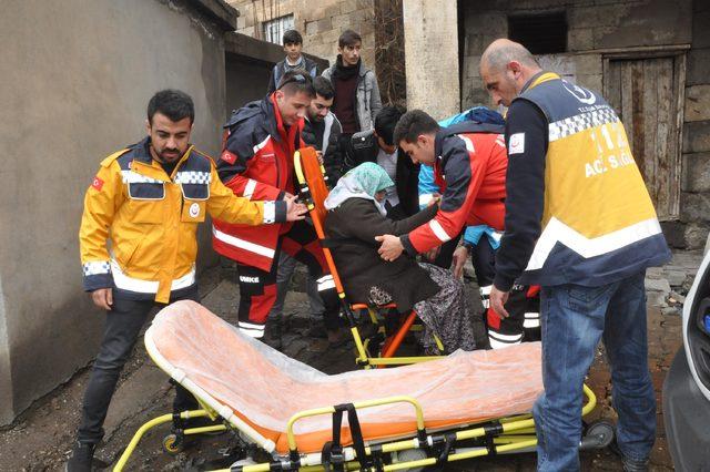 Van ve Bitlis'te engelli ve yaşlılar ambulanslarla sandığa gitti