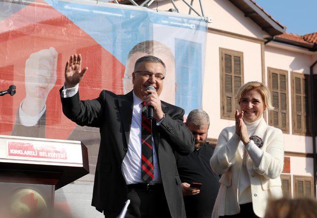 Kırklareli Belediye Başkanı Kesimoğlu, mazbatasına aldı