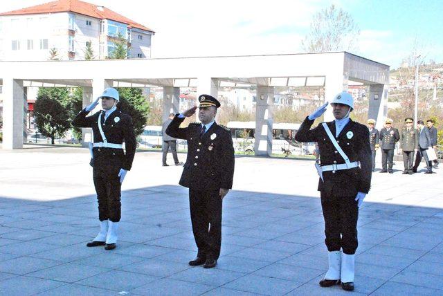 Bartın'da Türk Polis Teşkilatının 174'üncü yılı kutlandı