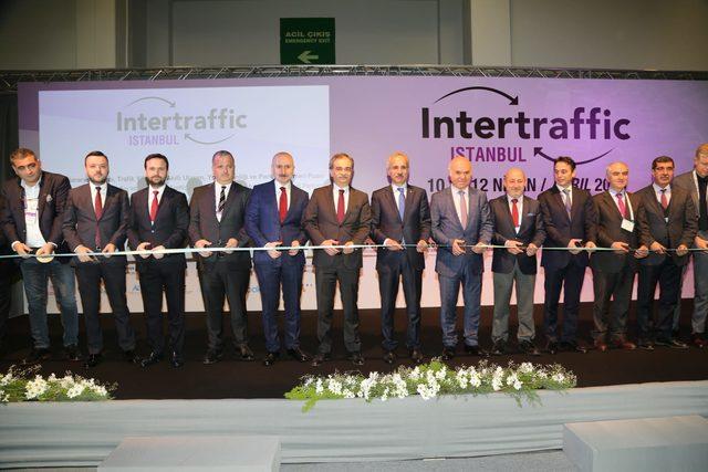"""İBB'nin katkılarıyla düzenlenen """"Intertraffıc İstanbul"""" fuarı başladı"""