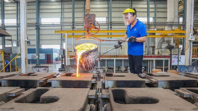 Çin'de bir çalışan