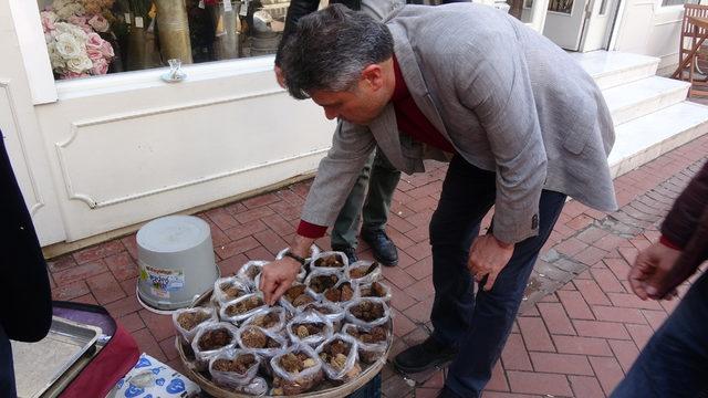 Kuzugöbeği mantarı kilosu 100 TL'den satılıyor