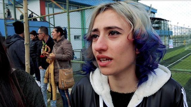 Mor Barikat Taraftar Grubu'ndan Beritan Akyol