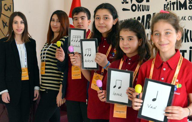 Ortaokul öğrencilerinin down sendromlu çocuklarla ritim kardeşliği
