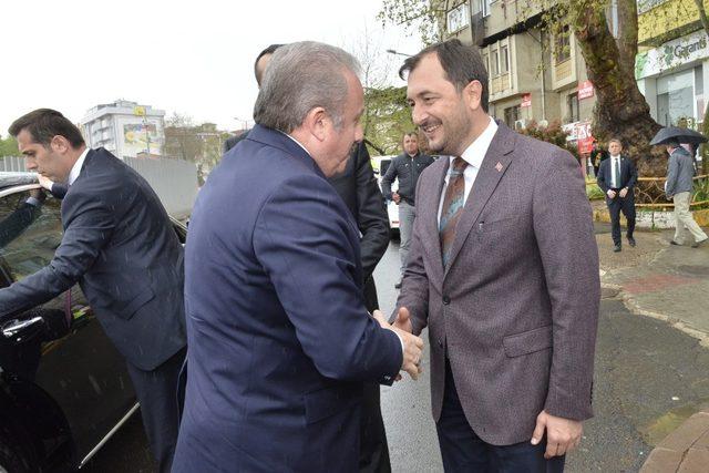 TBMM Başkanı Şentop, Yüksel'i tebrik etti