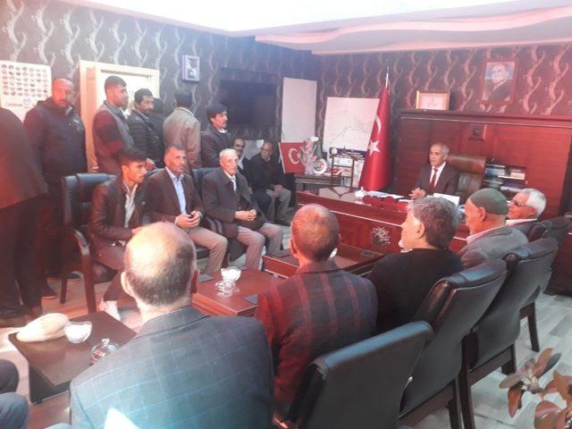 Başkan Ensari'ye hayırlı olsun ziyaretleri