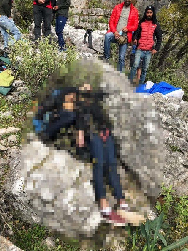 Fethiye'de paraşüt kazası: 2 ölü (3)