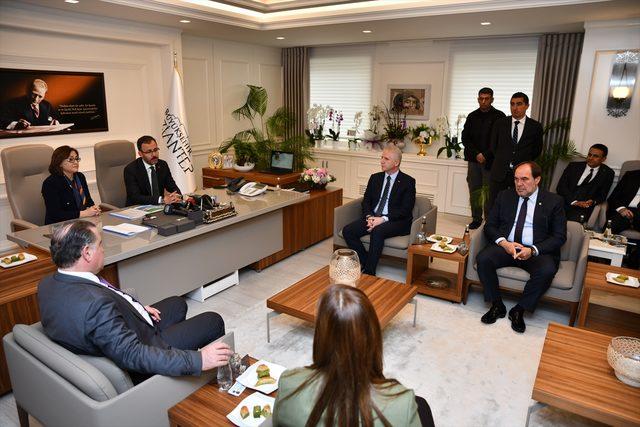 Gençlik ve Spor Bakanı Mehmet Muharrem Kasapoğlu, Gaziantep'te
