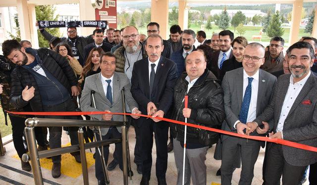 Engelliler için hazırlanan dev proje Sivas'ta başlatıldı