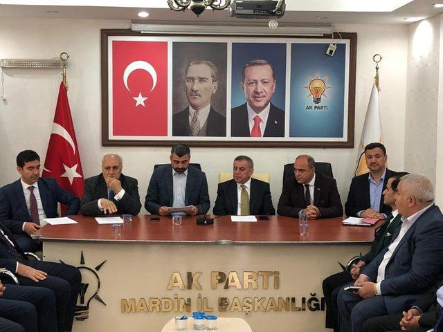 AK Parti Mardin İl Başkanı Kılıç: