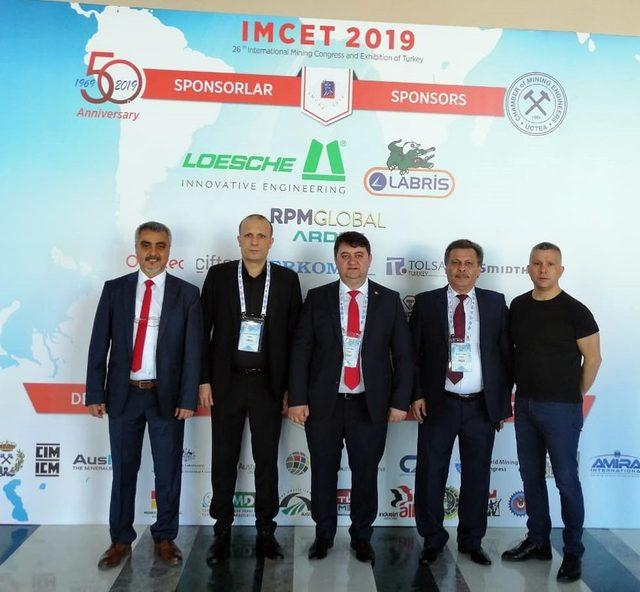 IMCET 2019 - Madencilik Kongresi gerçekleştirildi