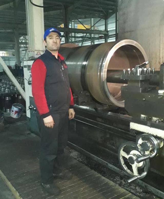 Fabrikadaki hidrolik makinede patlama: 1 işçi öldü