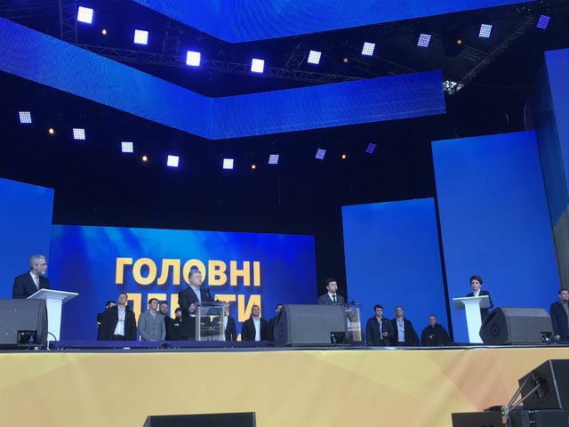 Ukrayna'da başkan adaylarının stat tartışması başladı