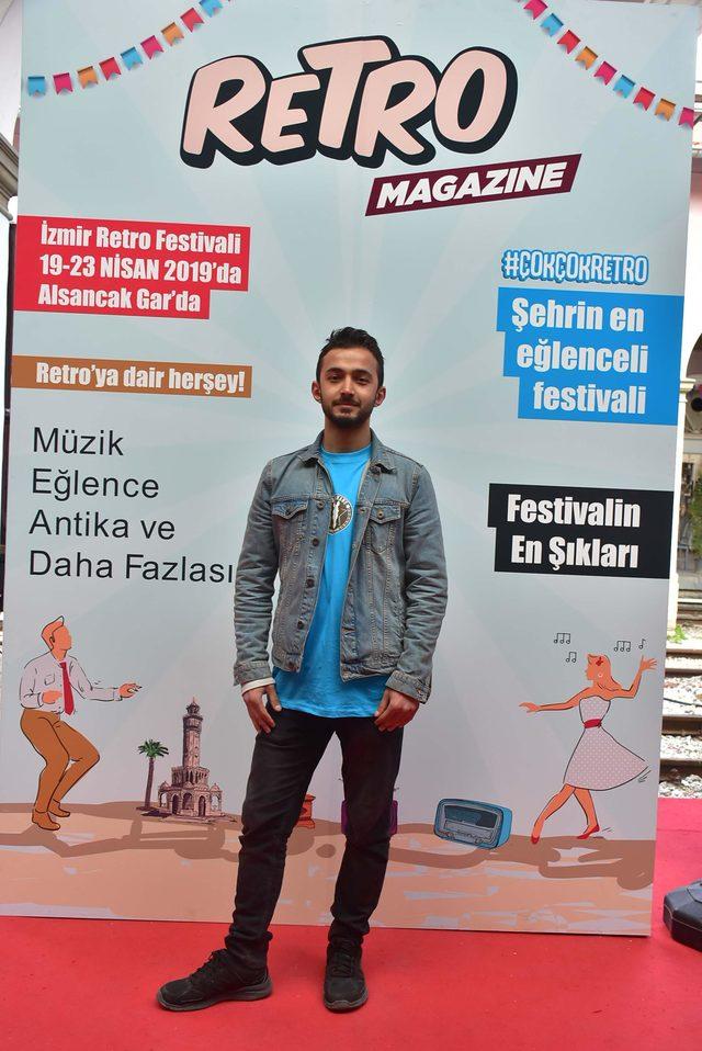 İzmir Retro Festivali ikinci kez Alsancak Garı'nda