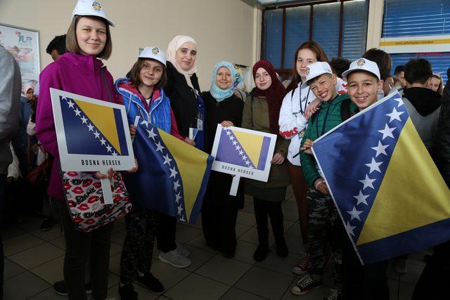Barış elçisi çocuklar İstanbul'u keşfetti