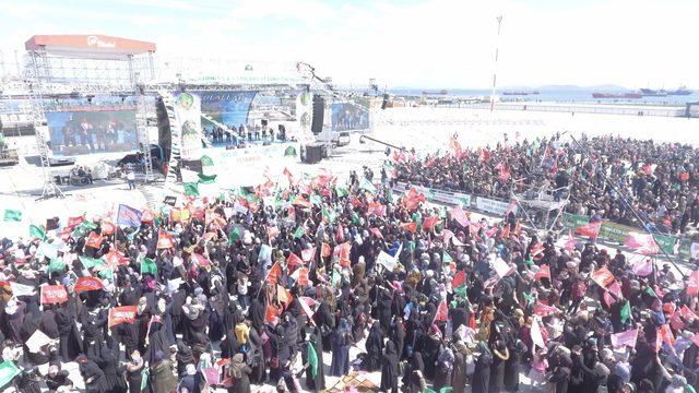 Peygamber Sevdalıları'ndan Yenikapı'da mevlit etkinliği