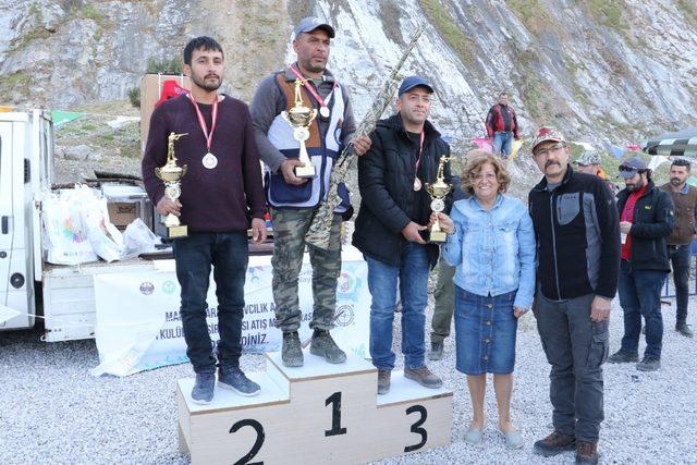 Atıcılar derece için yarıştı