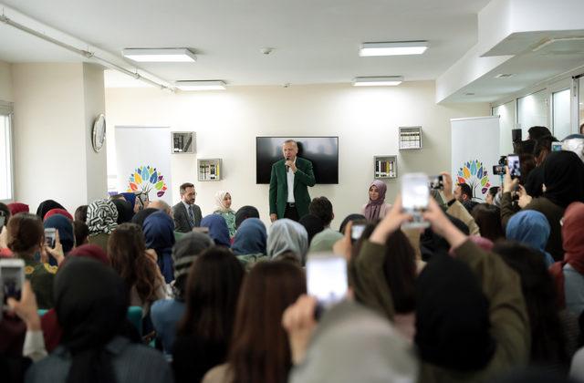 Erdoğan TÜRGEV yurdunu ziyaret etti(Ek bilgi ve fotoğraflar)