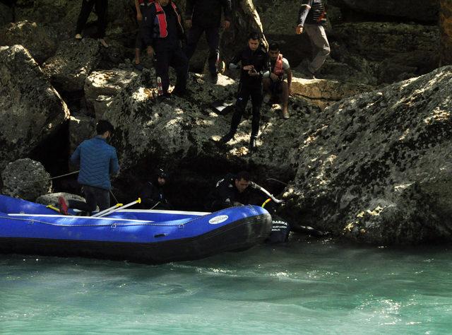 Irmakta kaybolan üniversiteli Bekir'in cansız bedeni bulundu
