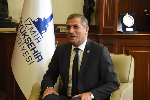 İYİ Parti'den CHP'li Başkan Tunç Soyer'e ziyaret